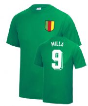Roger Milla Cameroon World Cup Football T Shirt